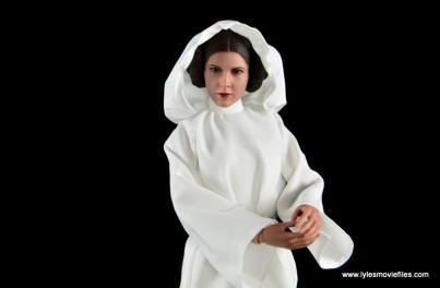 Hot Toys Princess Leia figure review - with hood on