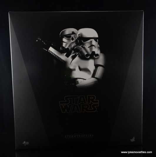 Hot Toys Stormtroopers figure review - front package
