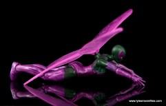 Marvel Legends Beetle figure review - flying pose