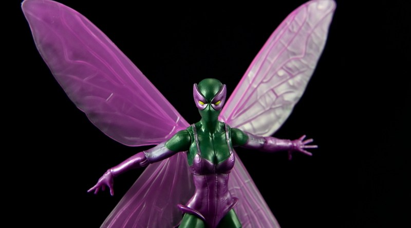 Marvel Legends Beetle figure review -main profile pic