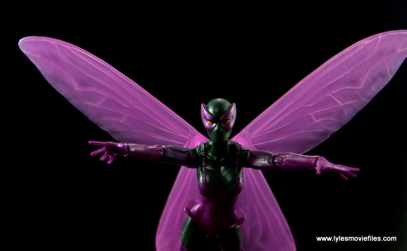 Marvel Legends Beetle figure review -taking flight