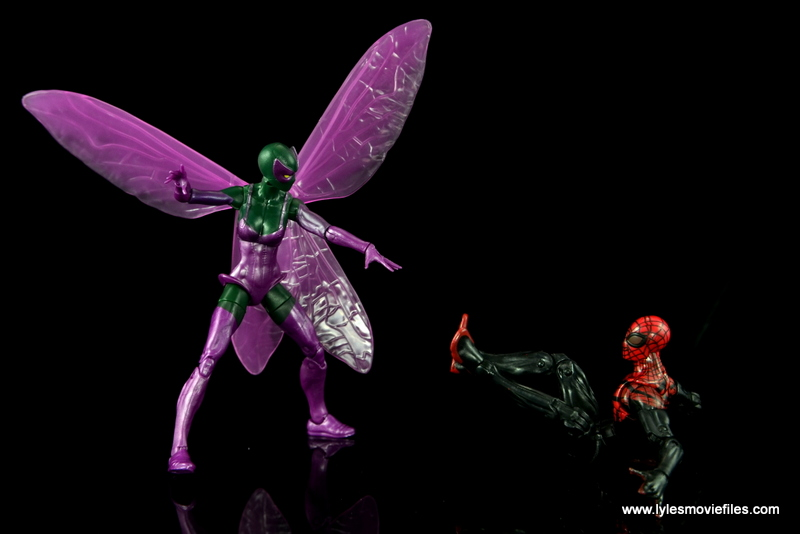 Marvel Legends Beetle figure review - upper hand on Superior Spider-Man