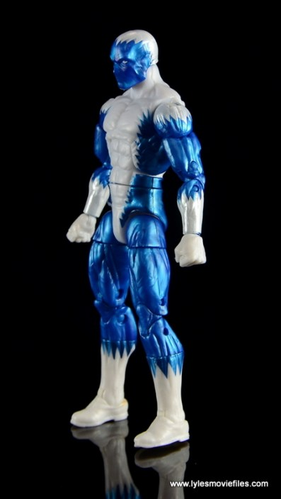 Marvel Legends Blizzard figure review - left side