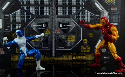 Marvel Legends Blizzard figure review - vs Iron Man