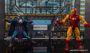 Marvel Legends The Raft figure review Dreadknight - vs Iron Man