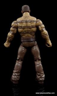 Marvel Legends The Raft figure review - Sandman rear