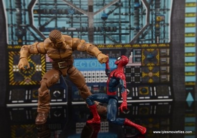 Marvel Legends The Raft figure review - Sandman vs Spider-Man