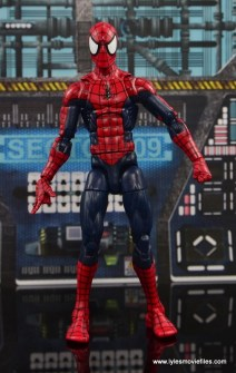 Marvel Legends The Raft figure review Spider-Man straight