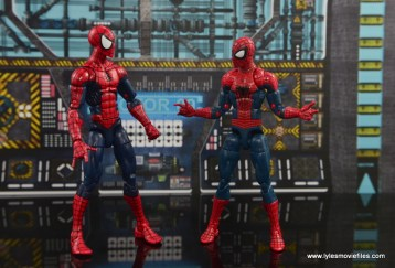Marvel Legends The Raft figure review Spider-Man with movie Spider-Man