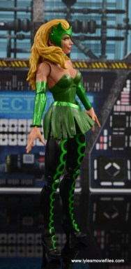 Marvel Legends The Raft figure review The Enchantress right side