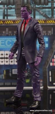 Marvel Legends The Raft figure review - The Purple Man left side