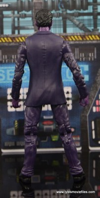 Marvel Legends The Raft figure review - The Purple Man rear