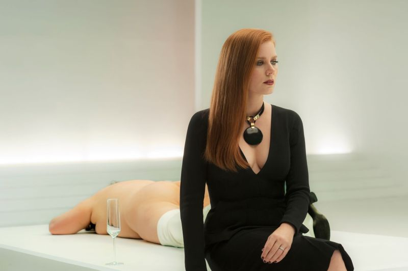 Nocturnal Animals review - Amy Adams black on white backdrop