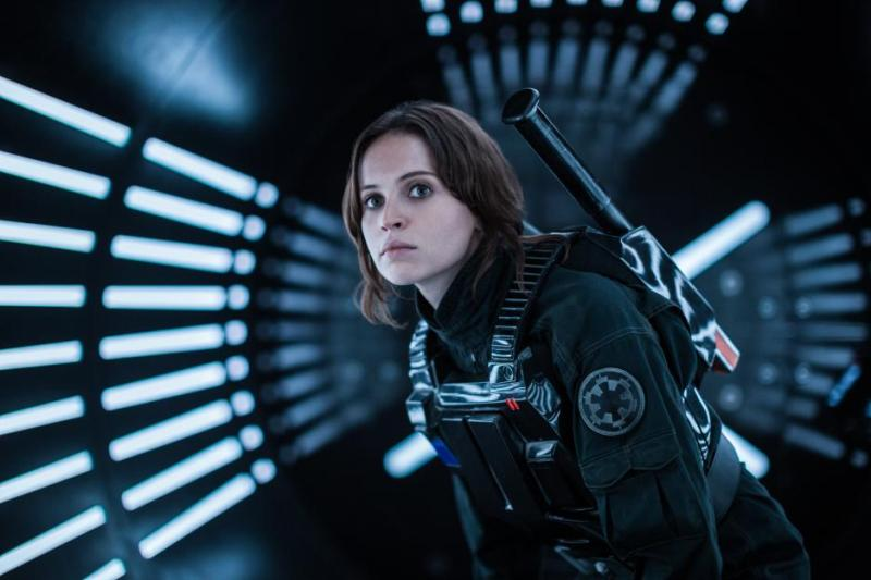 Rogue One A Star Wars Story review - Felicity Jones as Jyn Erso