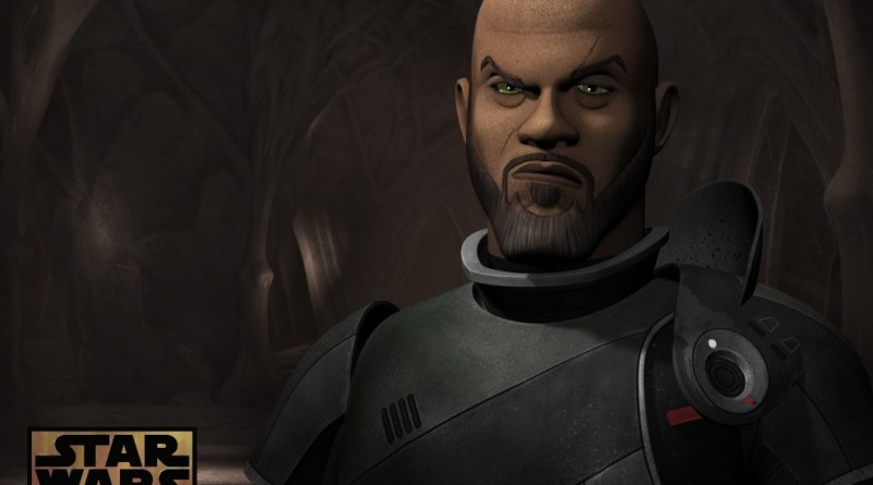 Saw Gerrera on Star Wars Rebels