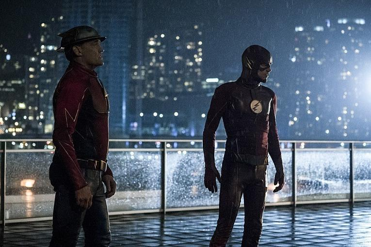 The Flash The Present review - The Flash and Jay Garrick