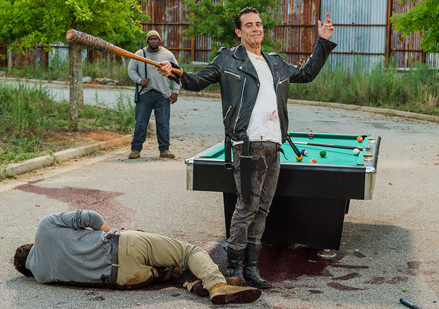 The Walking Dead Hearts Still Beating review - Spencer and Negan