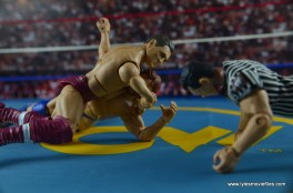 WWE Elite 45 Steve Regal figure review -crossface to Hacksaw