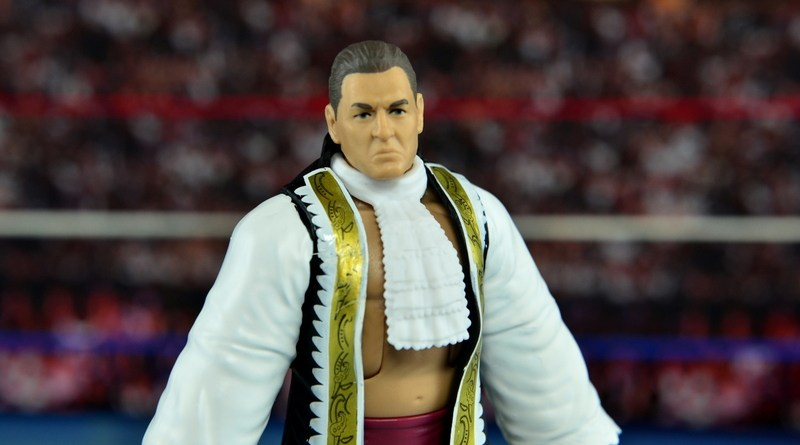 WWE Elite 45 Steve Regal figure review -main pic