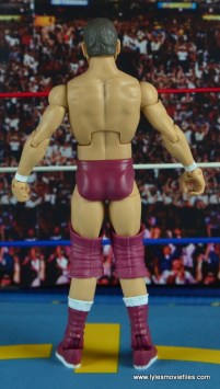 WWE Elite 45 Steve Regal figure review - rear