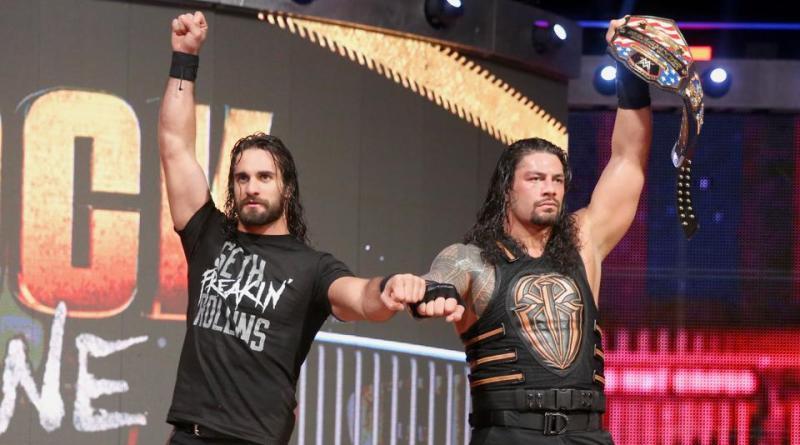 WWE Roadblock 2016 - Seth Rollins and Roman Reigns