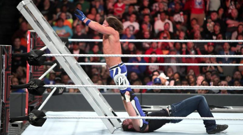 WWE TLC 2016 - AJ Styles vs Dean Ambrose