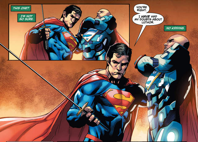 Action Comics #971 interior art