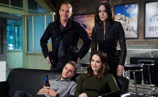 Agents of SHIELD The Laws of Inferno Dynamics - Fitz, Simmons, Coulson and Daisy