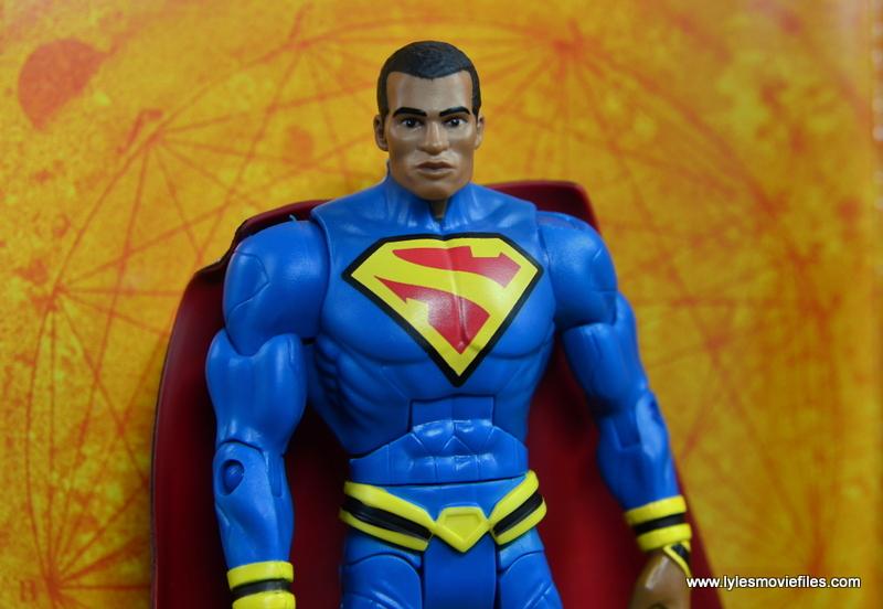 DC Multiverse Elite-23 Superman figure review - with sun backdrop