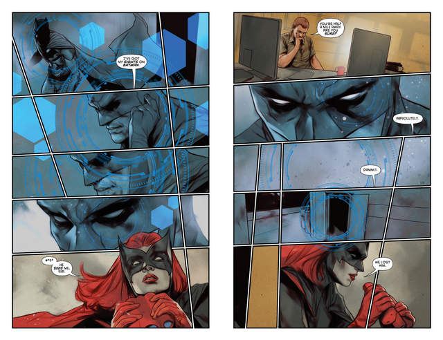 Detective Comics #948 interior art