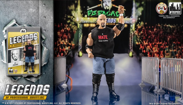 Figures Toy Company Legends - PJ Polaco