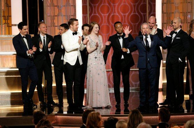 Golden Globes 2017 La La Land