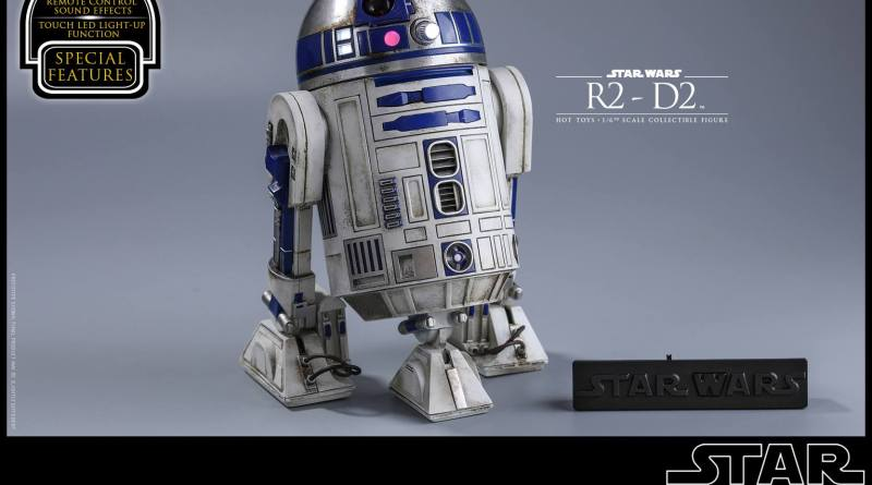 Hot Toys Star Wars The Force Awakens R2-D2 figure - MAIN
