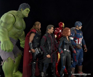Hot Toys Thor figure review Avengers Age of Ultron - The Avengers