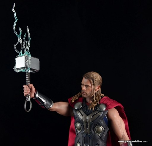 Hot Toys Thor figure review Avengers Age of Ultron -lightning accessory