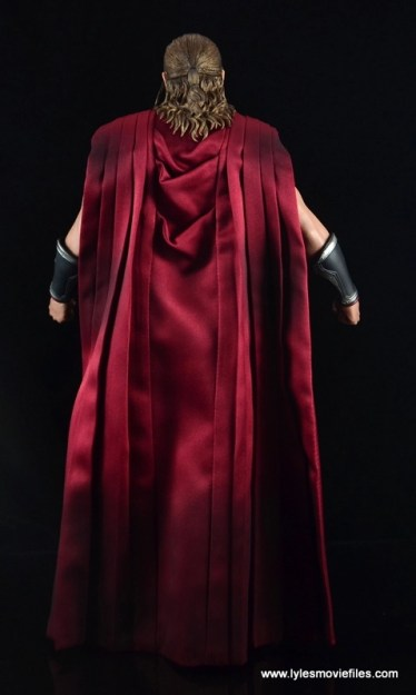 Hot Toys Thor figure review Avengers Age of Ultron -rear