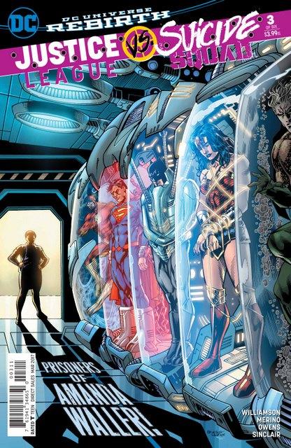 Justice League vs Suicide Squad #3 cover