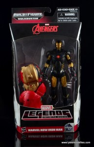 Marvel Legends Marvel Now Iron Man figure review - front package