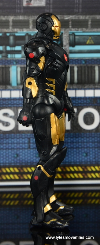 Marvel Legends Marvel Now Iron Man figure review - right side