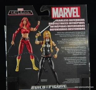 Marvel Legends Valkyrie figure review - bio
