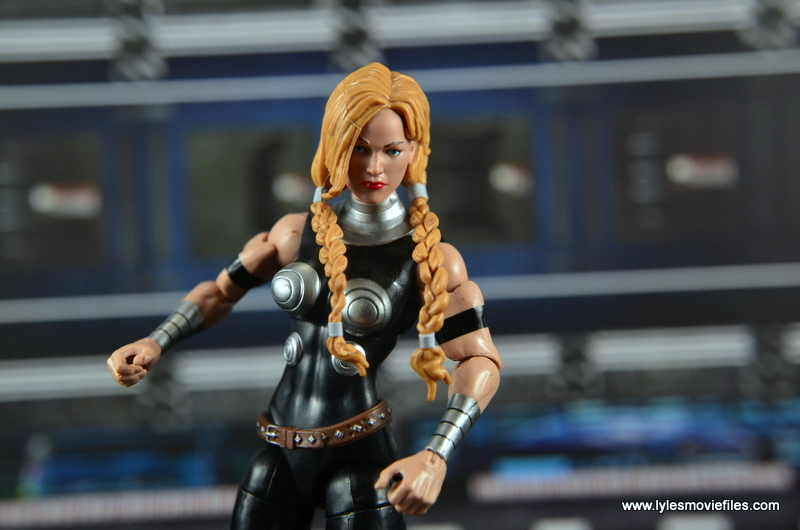 Marvel Legends Valkyrie figure review - wide pose