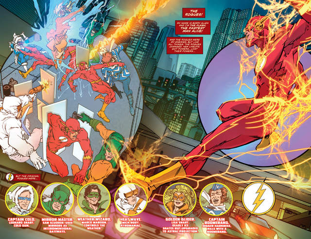 The Flash #14 interior art