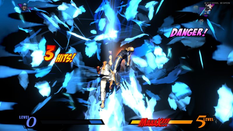 Ultimate Marvel vs Capcom 3 - Ryu hits super on Nova