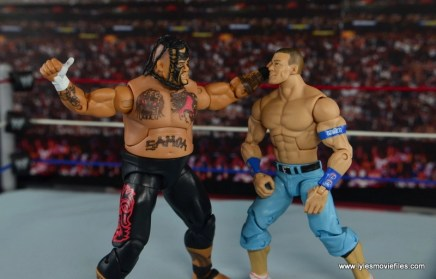WWE Elite 40 Umaga figure review - Samoan Spike to John Cena