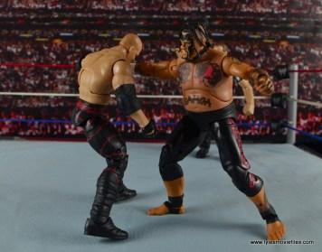 WWE Elite 40 Umaga figure review - Samoan Spike to Kane