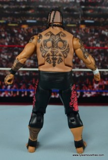 WWE Elite 40 Umaga figure review - rear