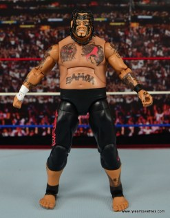 WWE Elite 40 Umaga figure review - straight