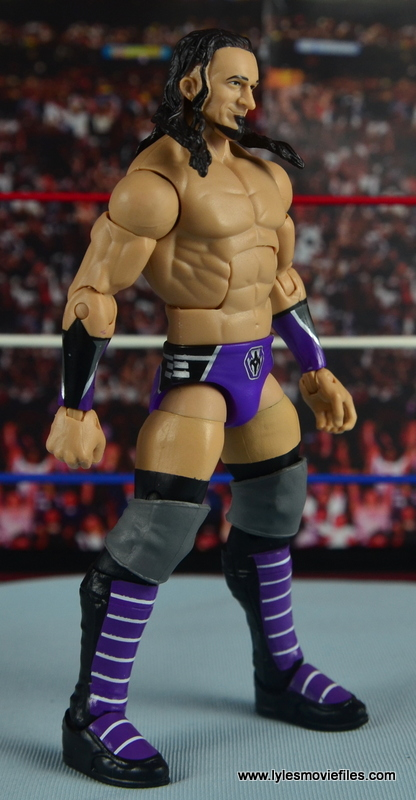 WWE Elite 42 Neville figure review - right side