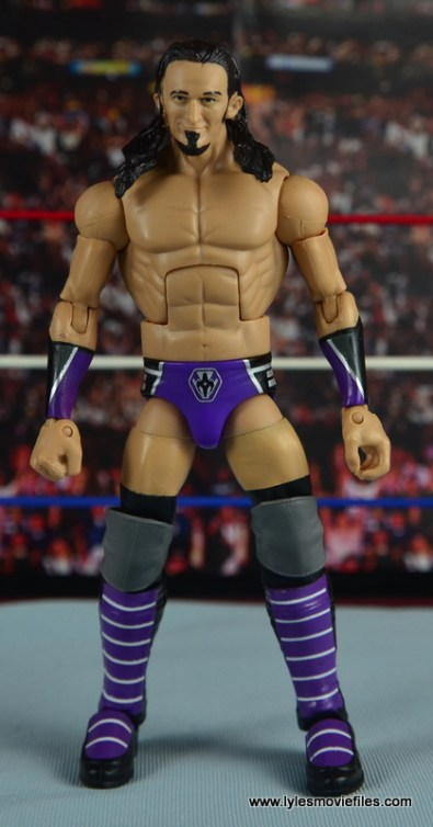 WWE Elite 42 Neville figure review - straight