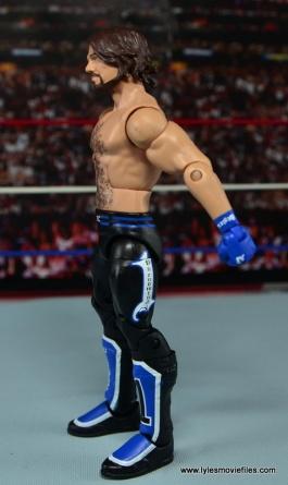 WWE Elite AJ Styles figure review - left side